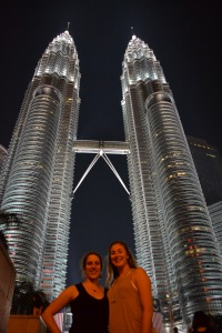 Petronas Twin Towers!
